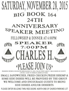 BIG BOOK 164 24th ANNIVERSARY @ Friedens Church | Indianapolis | Indiana | United States